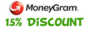 Money Gram 15% Discount